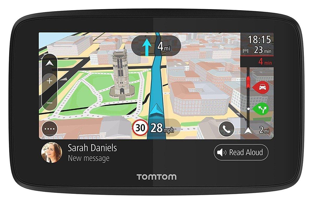 "GPS Car Navigation TomTom Go 520 WI-FI 5"" 16GB (4PN50) Lifetime Maps"