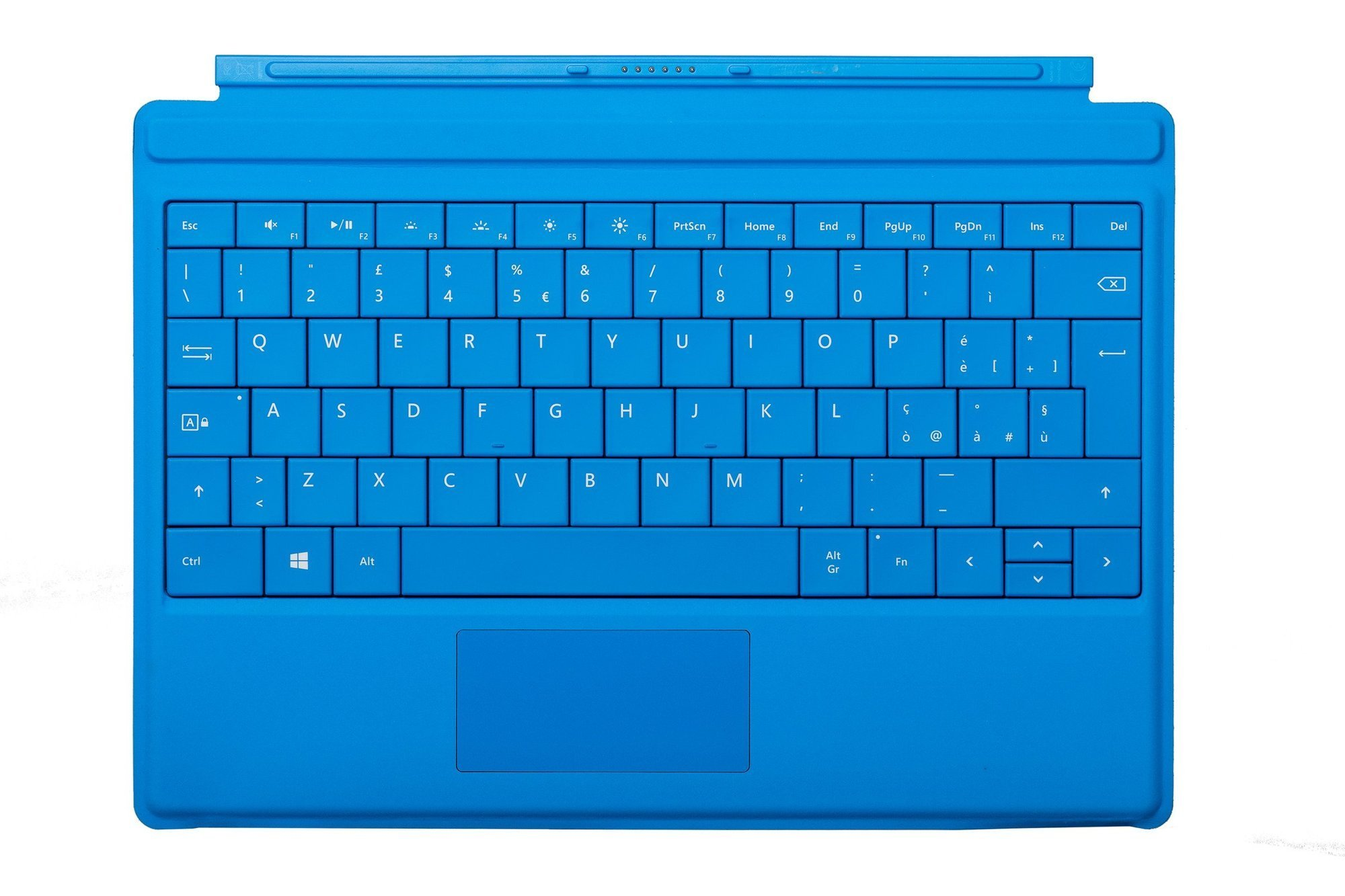 Keyboard Microsoft Surface Type Cover 3 Cyan QWERTY (Italian) Grade A
