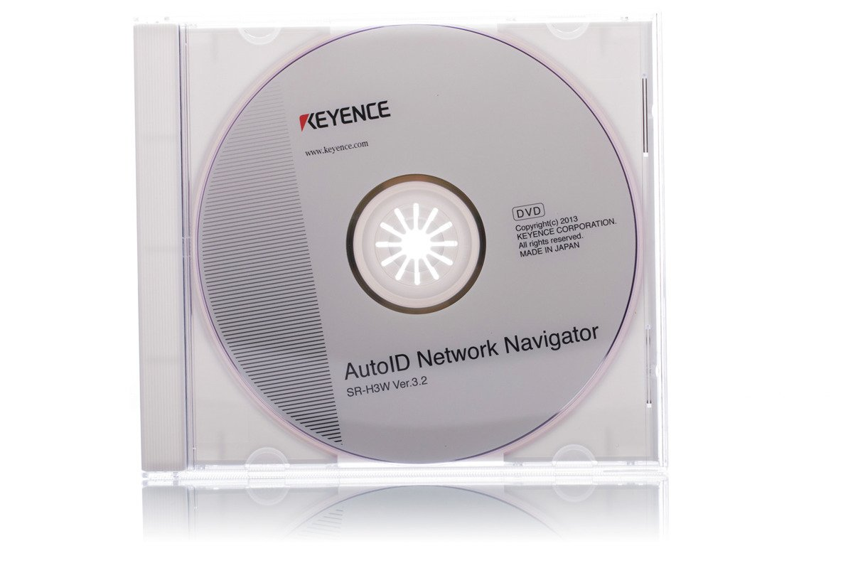 Keyence Setting Software SR-H3W CD Ver. 3.2