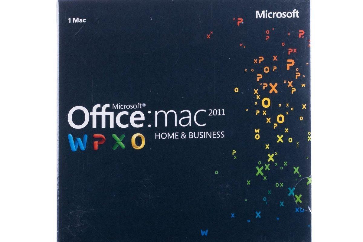 Microsoft Office Home&Business 2011 Mac W6F-00213 English Middle East EM
