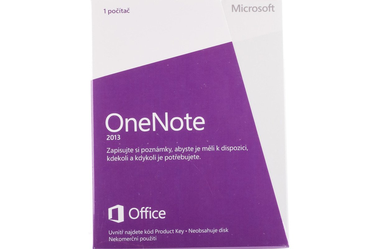 New Microsoft OneNote 2013 32/64 Medialess S26-05126 Eurozone