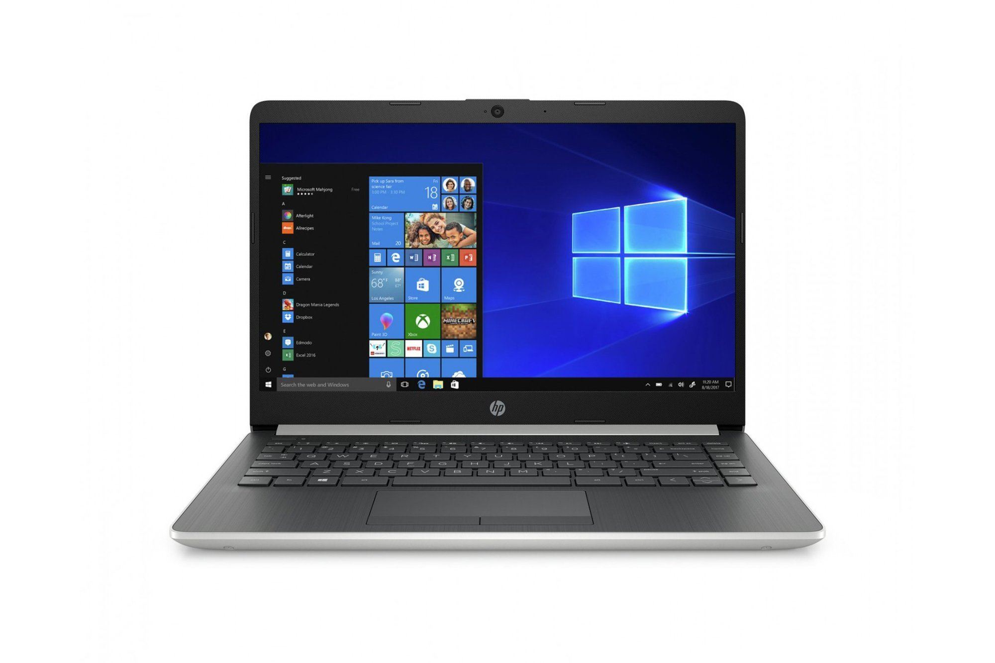 Notebook HP 14-dk0011na 14 FHD 8GB 256GB SSD Win10 AMD Ryzen 5 3500U