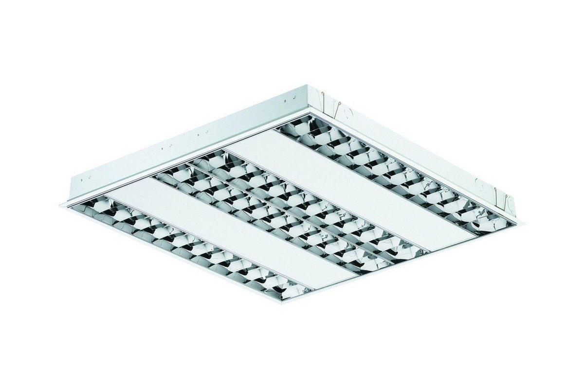 Philips EFix Ceiling Light Built-in TBS260 4xTL5-14W/840 HFS C6 EL3 PI Grade C