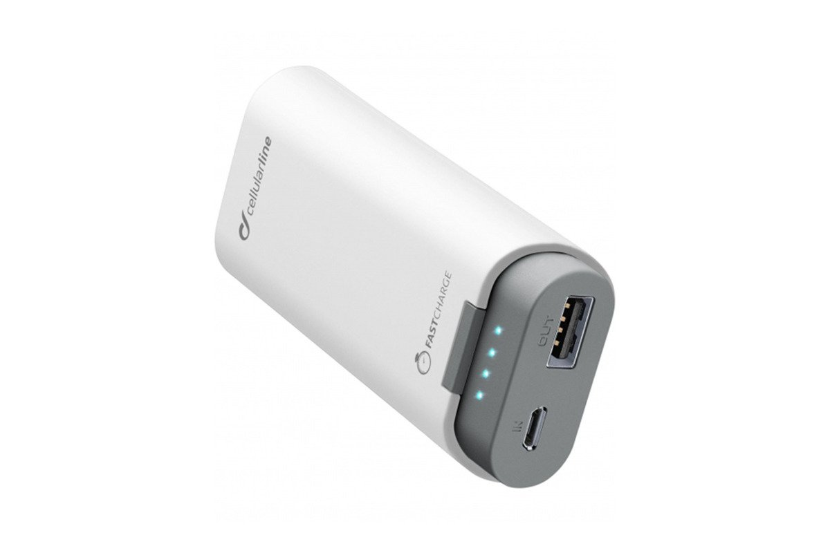 Powerbank Cellular line FreePower 5200 White