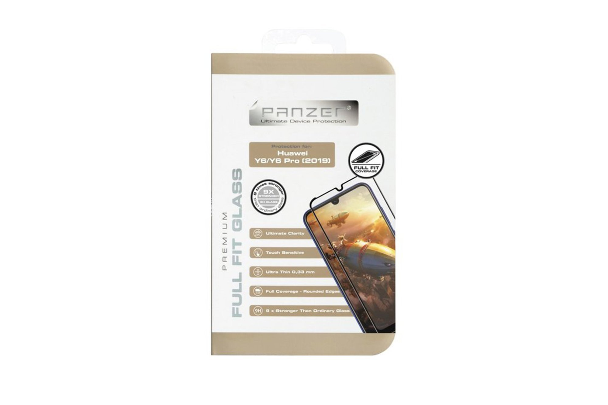 Protection glass Panzer FULL FIT GLASS SONY XPERIA 10 II