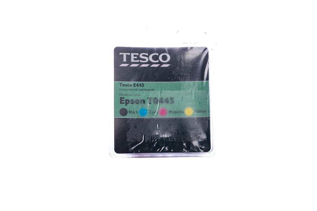 Remanufactured Ink cartridge Tesco Epson T0445 Cyan, Magenta, Yellow, Black