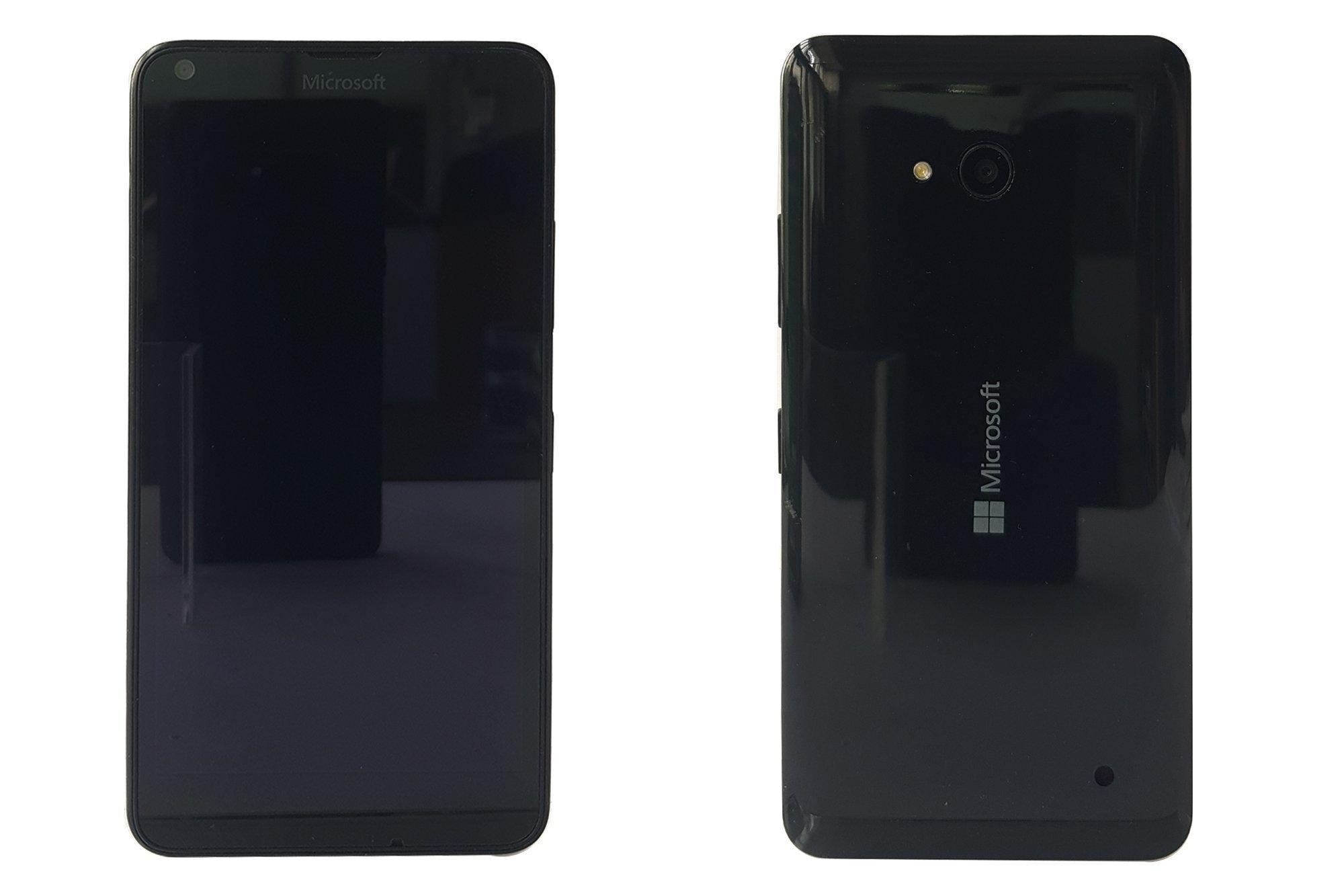 Smartphone Microsoft Lumia 640 RM-1072 Black Damaged