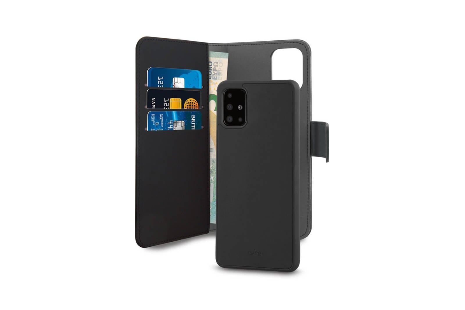 2in1 case PURO Wallet Detachable Samsung Galaxy A51