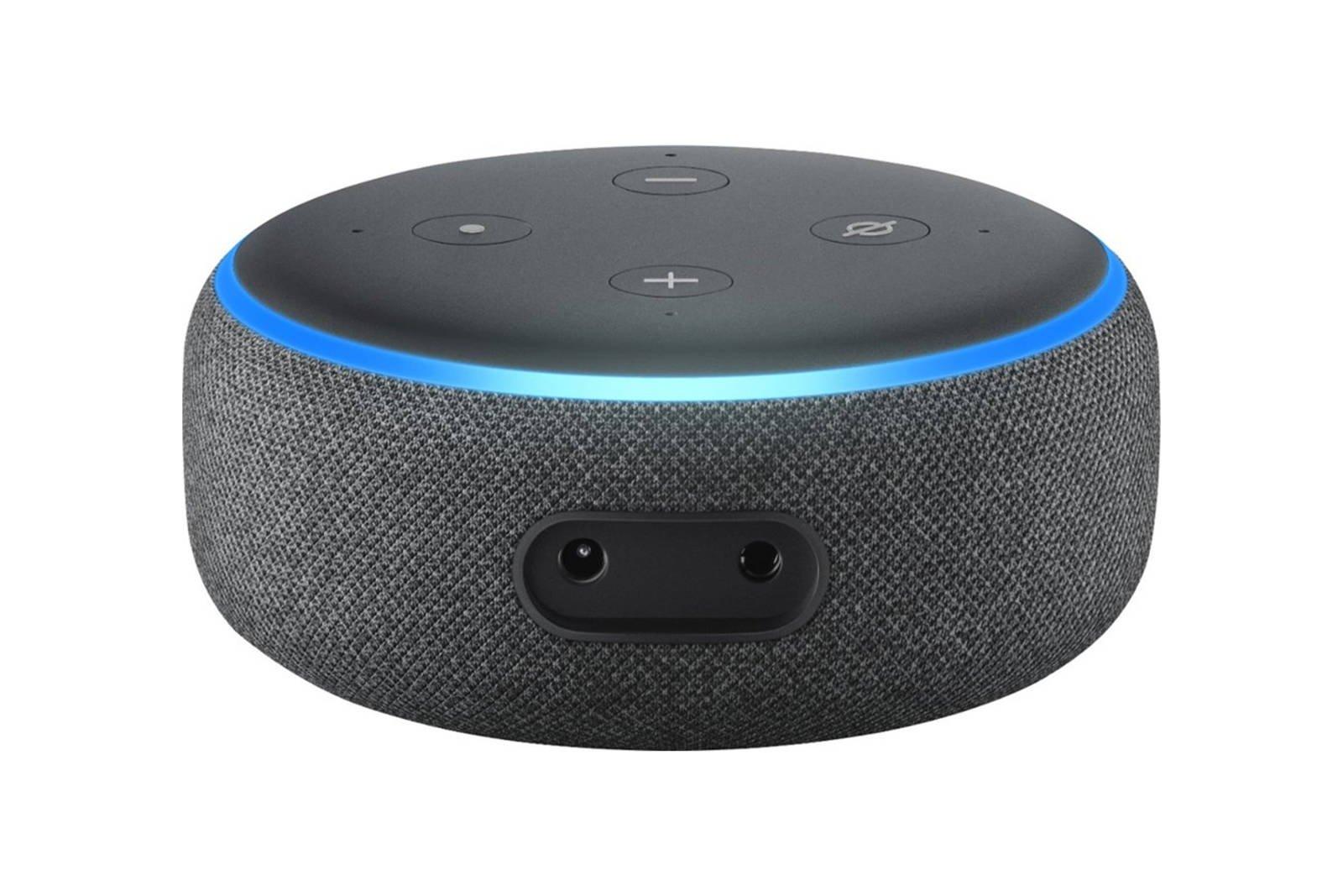 Amazon Echo Dot 3 Gen Smart Speaker with Alexa Charcoal