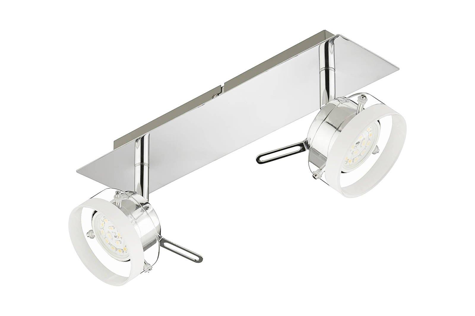 Ceiling Lamp Ceiling Briloner Click 2807-028 2x 5W LED