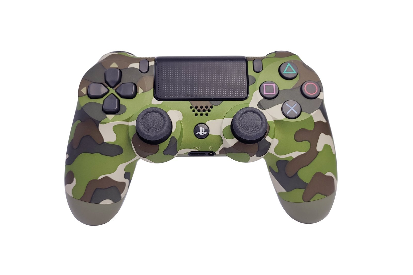 Controller Gamepad Playstation 4 PS4 v2 Green Camouflage