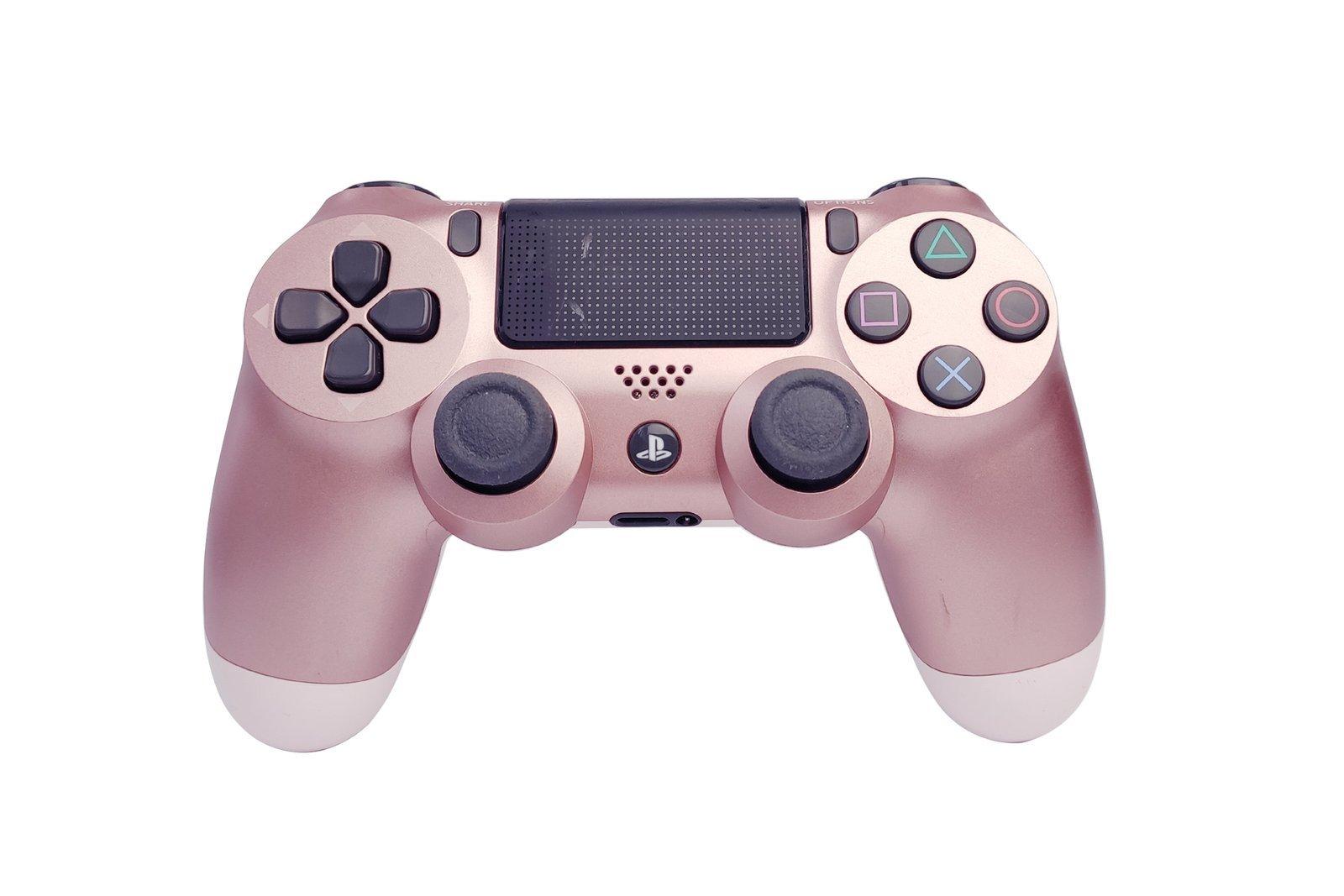 Controller Gamepad Playstation 4 PS4 v2 Rose Gold