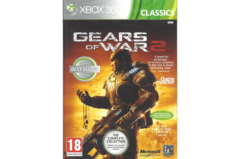 Gears od War 2 Xbox 360