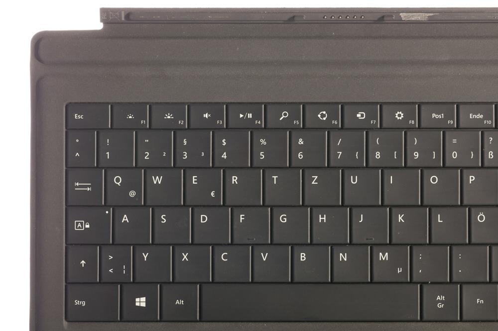 Keyboard Microsoft Surface Type Cover Pro 3 Black QWERTZ (German) Grade B