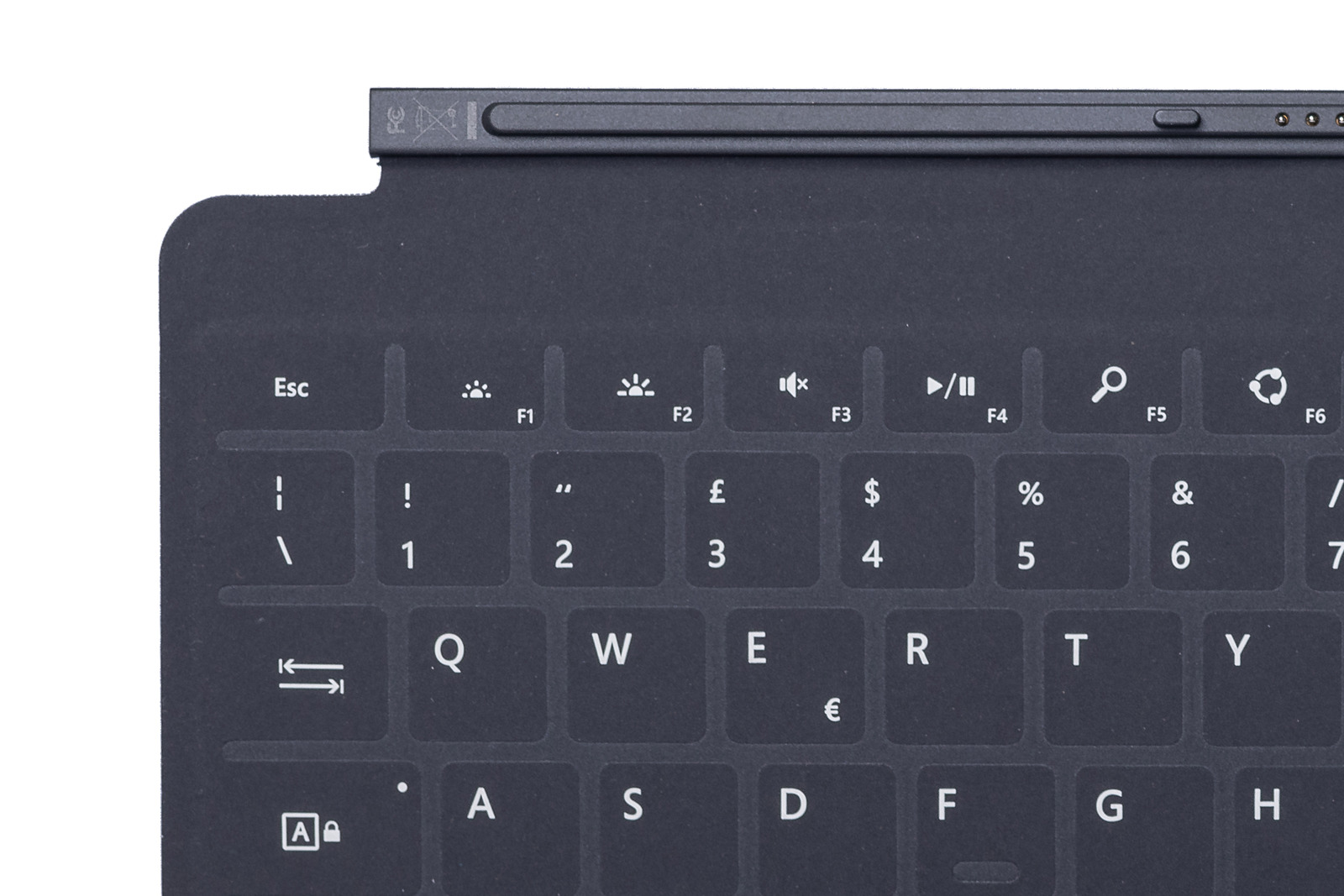 Keyboard Surface Touch Cover 1 Black Grade A (Italian)