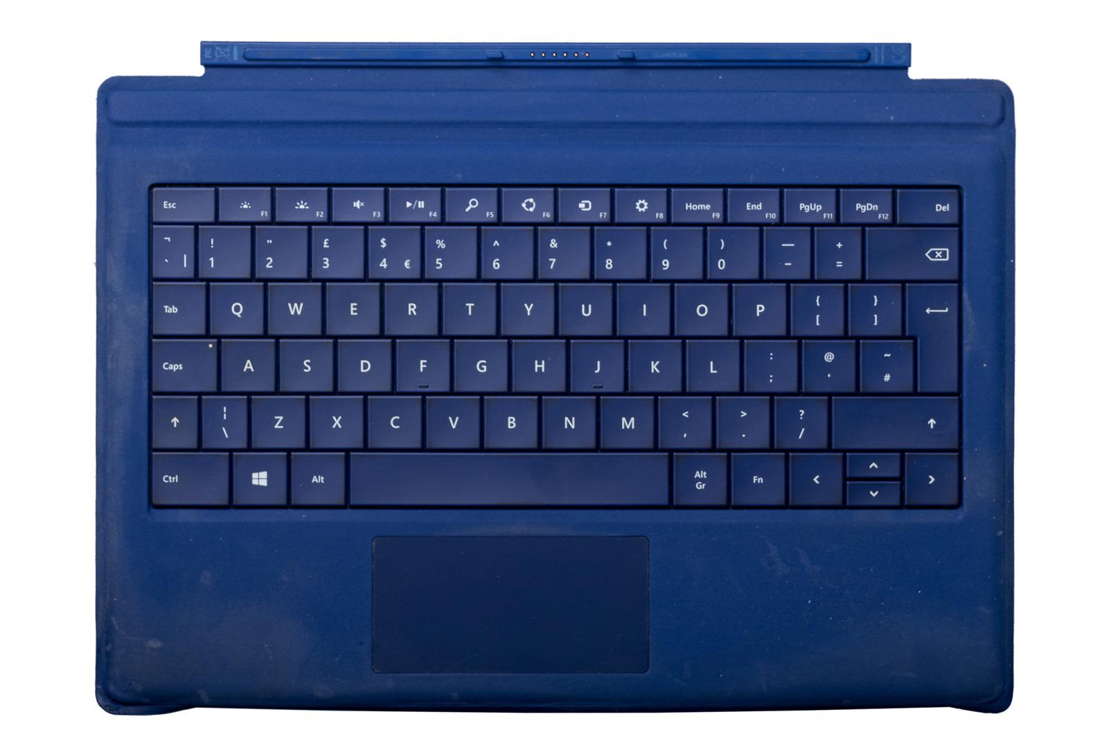 Keyboard Surface Type Cover Pro 3 Dark blue Grade C (British)