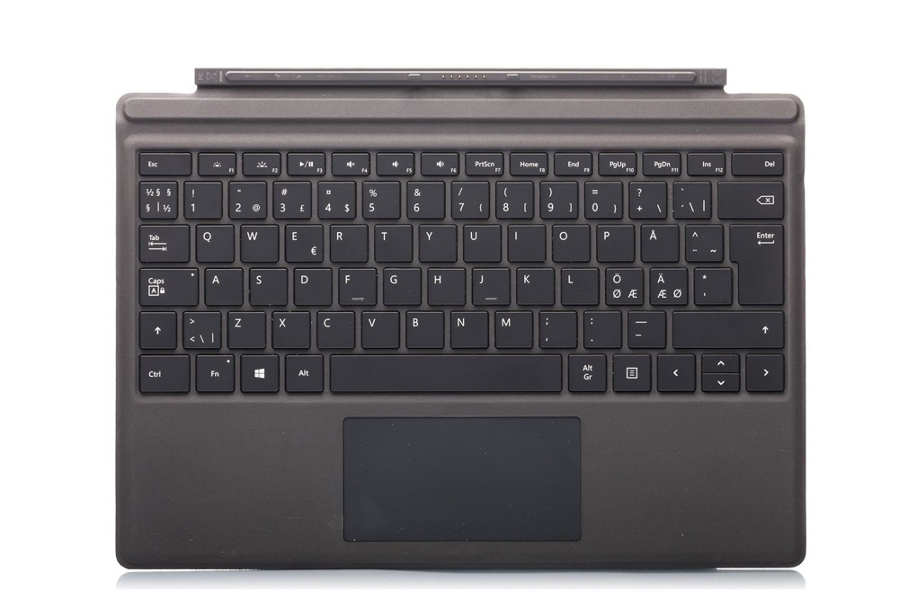 Keyboard Surface Type Cover Pro 4 Black Grade B (Nordic)