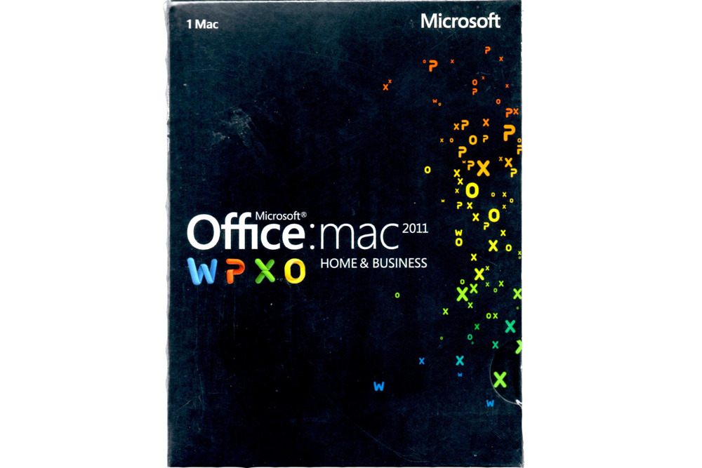 Microsoft Office 2011 Mac Home & Business (W6F-00202) BOX EUROZONE Medialess EN