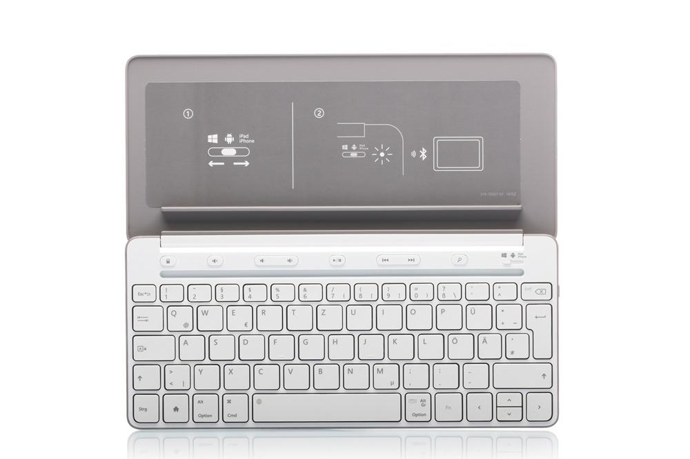 Microsoft Universal Mobile White (German)