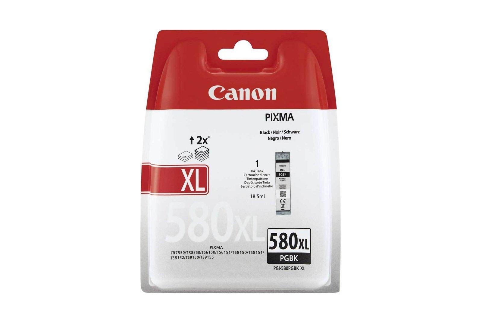 Original ink cartridge Canon PIXIMA PGI-580XL Black 2024C004