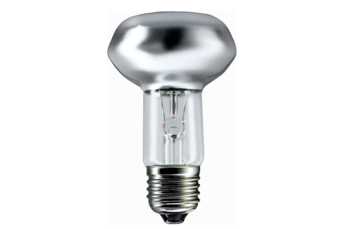 Reflector bulb Philips 60W E27 125-130V NR63 30D FR 1CT