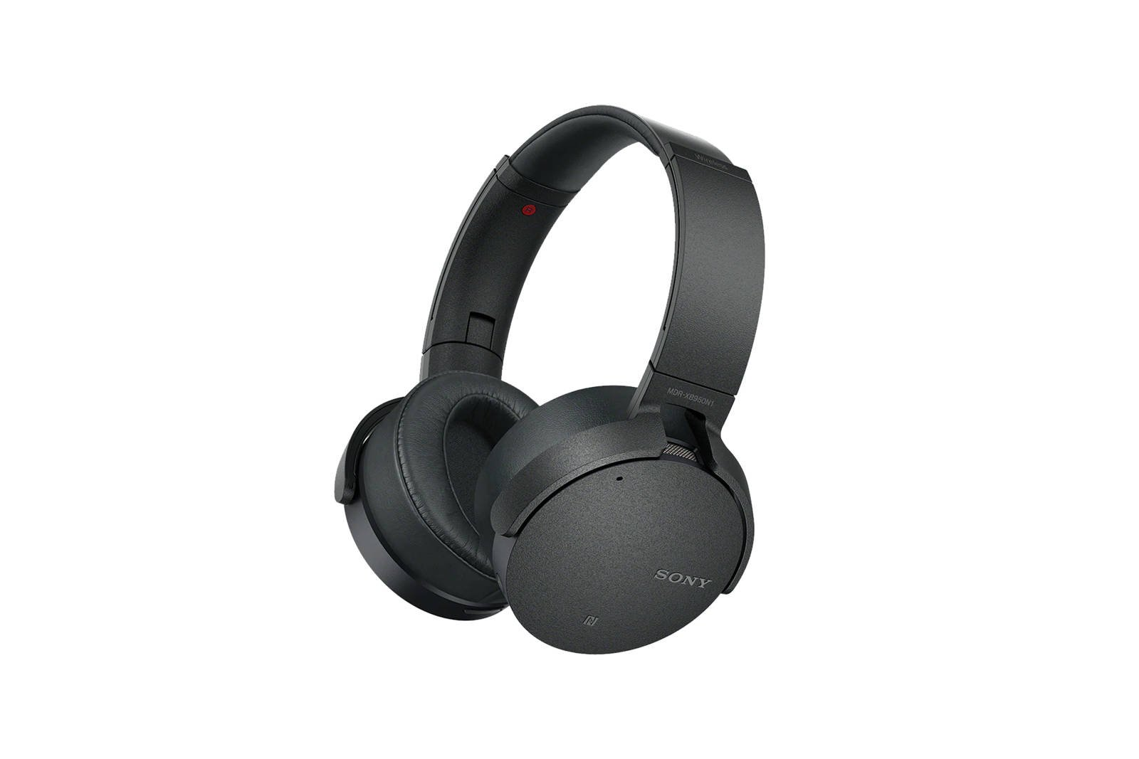 Sony MDR-XB950N1 Extra Bass Wireless Noise Cancelling Over-the-Ear Headphones Titanium